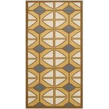 Hampton Ivory Geometric Outdoor Area Rug