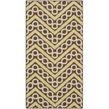 Hampton Brown / Ivory Outdoor Rug