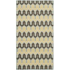Hampton Light Blue / Green Outdoor Rug
