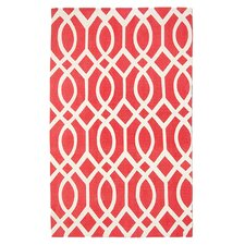 Cedar Brook Red / Ivory Rug