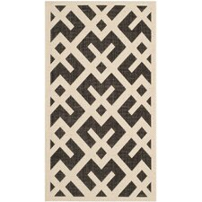 Courtyard Beige / Black Rug