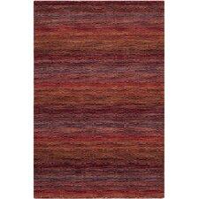 Himalaya Red Stripe Area Rug