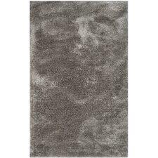 Martha Stewart Shag Black/Gray Area Rug