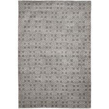Tibetan Grey / Ivory Geometric Rug
