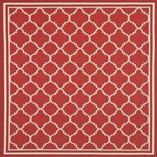 Courtyard Red / Bone Outdoor Rug
