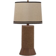 """Alex Bay 36"""" H Table Lamp with Empire Shade"""