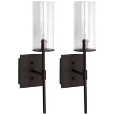 Sunnycrest 1 Light Wall Sconce (Set of 2)