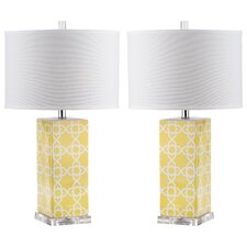 Quatrefoil Table Lamp (Set of 2)
