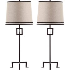 "Hanover 36"" H Table Lamp with Empire Shade (Set of 2)"
