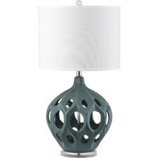 Regina Table Lamp with Drum Shade