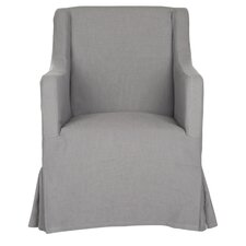 Sandra Skirted Armchair Slipcover
