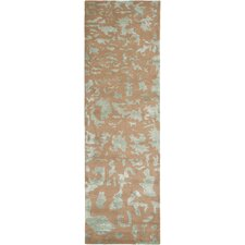 Soho Taupe / Light Blue Rug