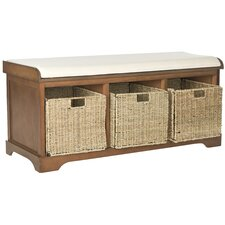 Lonan Wood Storage Entryway Bench