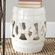 Ceramic Double Coin Stool
