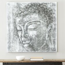 Serenity Buddha Painting Print on Canvas