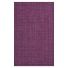 Natural Fiber Purple Indoor/Outdoor Rug