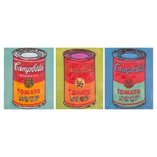 Soups On 3 Piece Painting Print on Canvas Set