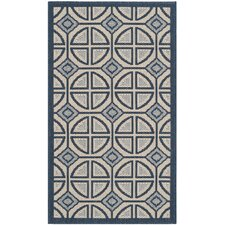 Courtyard Beige Indoor/Outdoor Rug