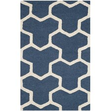Cambridge Navy Blue / Ivory Rug