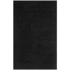 Shag Black Rug