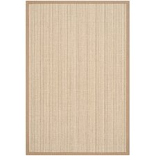 Natural Fiber Tan Area Rug