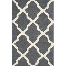 Cambridge Dark Grey/Ivory Area Rug