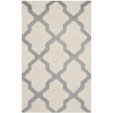 Cambridge Ivory / Silver Area Rug