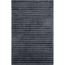 Mirage Navy / Blue Striped Rug