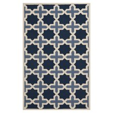 Cambridge Dark Blue & Ivory Area Rug