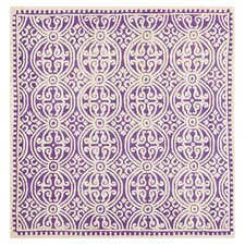Cambridge Purple / Ivory Area Rug