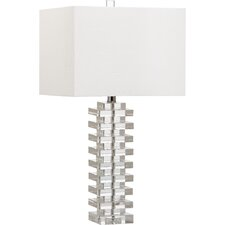 "Swift 26.5"" H Table Lamp with Square Shade"
