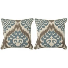 Josh Cotton Throw Pillow (Set of 2)