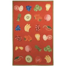 <strong>Safavieh</strong> Chelsea Red Savoy Fruit Novelty Rug