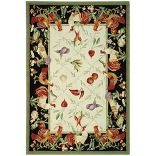 Chelsea Leaf and Chicken Novelty Rug