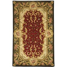Naples Red/Green Rug