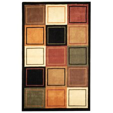 Rodeo Drive Gold/Black Area Rug
