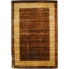 Silk Road Chocolate/Light Gold Rug