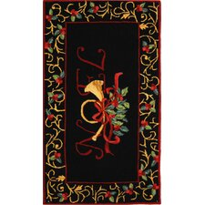Chelsea Black Novelty Rug