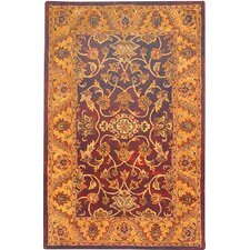<strong>Safavieh</strong> Golden Jaipur Burgundy/Gold Rug