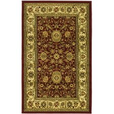 <strong>Safavieh</strong> Lyndhurst Persian Red/Ivory Rug