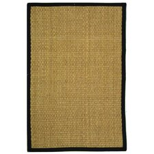 <strong>Safavieh</strong> Natural Fiber Natural/Black Rug