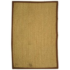 Natural Fiber Natural/Light Brown Rug
