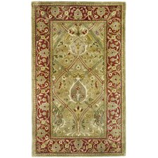 Persian Legend Light Green/Rust Rug