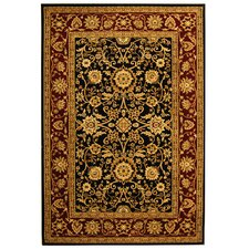 Lyndhurst Black/Red Rug
