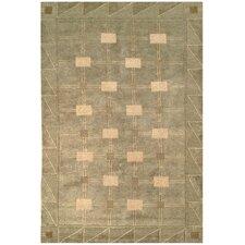 Tibetan Symmetry Sage/Oyster Area Rug
