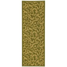 Courtyard All Over Ivy Outdoor Area Rug