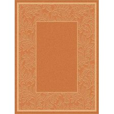 <strong>Safavieh</strong> Courtyard Terracotta/Natural Rug