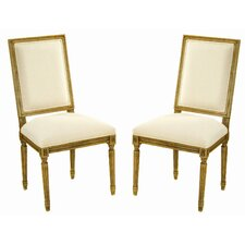 <strong>Safavieh</strong> Antiqued Fairfax Side Chair (Set of 2)