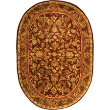 Antiquities Majesty Wine/Gold Rug