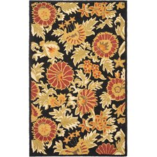 <strong>Safavieh</strong> Blossom Black/Multi Rug